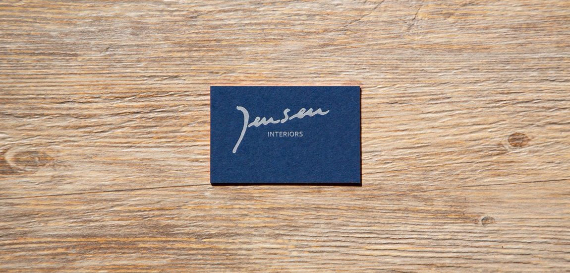Jensen business card
