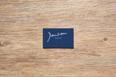 Jensen business card